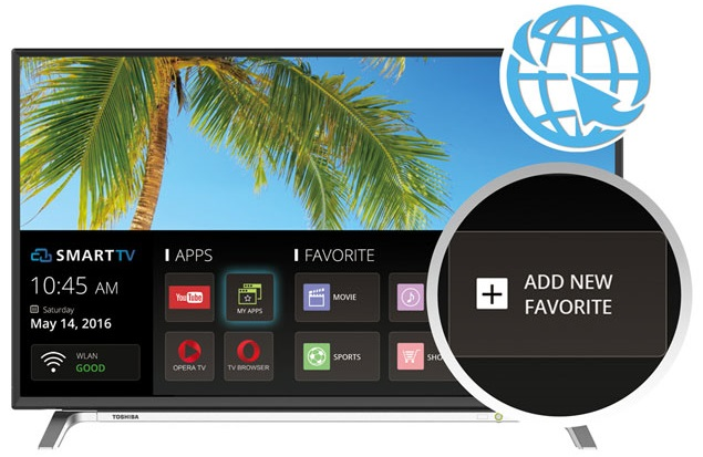 Toshiba 32l5650 Smart TV