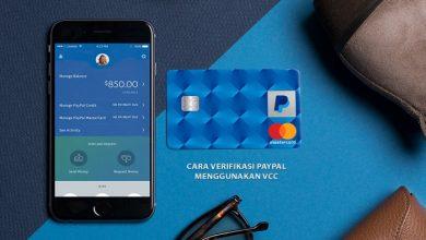 Cara verifikasi PayPal dengan VCC secara gratis terbaru